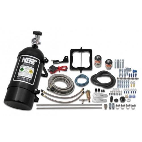 NOS Cheater Wet Nitrous System for 4500 Dominator 4-barrel Carburetor-Black 02002BNOS