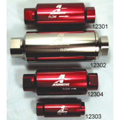 Aeromotive Billet In-Line Fuel Filters