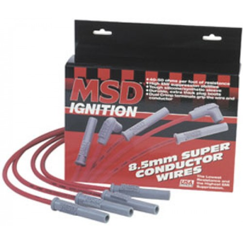MSD 31239 8.5mm Super Conductor Spark Plug Wire Set
