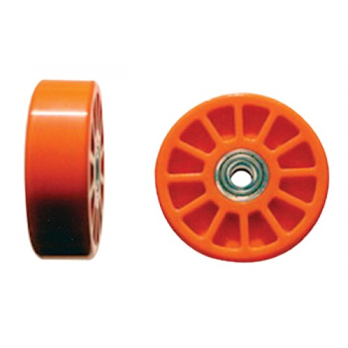 "Wheeleze Wheelie Bar Wheels 4 dia x 1 1/4"" wide"