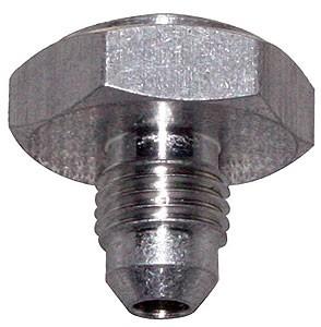 DEEZ Aluminum Weld Bung Male -4 AN Hex