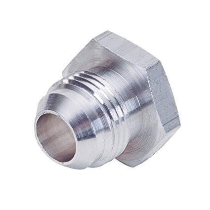 DEEZ Aluminum Weld Bung Male -6 AN Hex