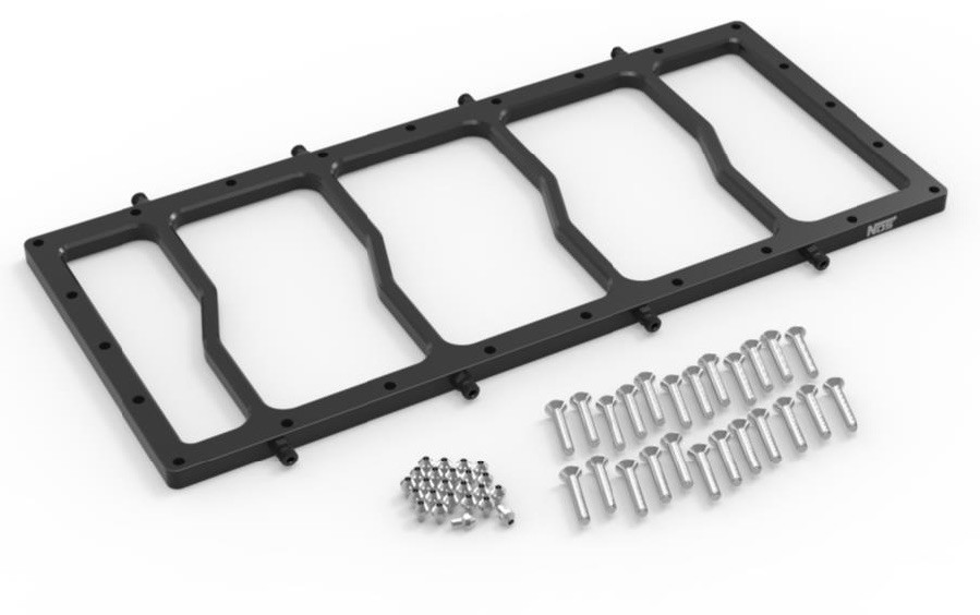NOS Dry Spacer Plate for Sniper EFI Race Series LS Intake Manifold 12536BNOS