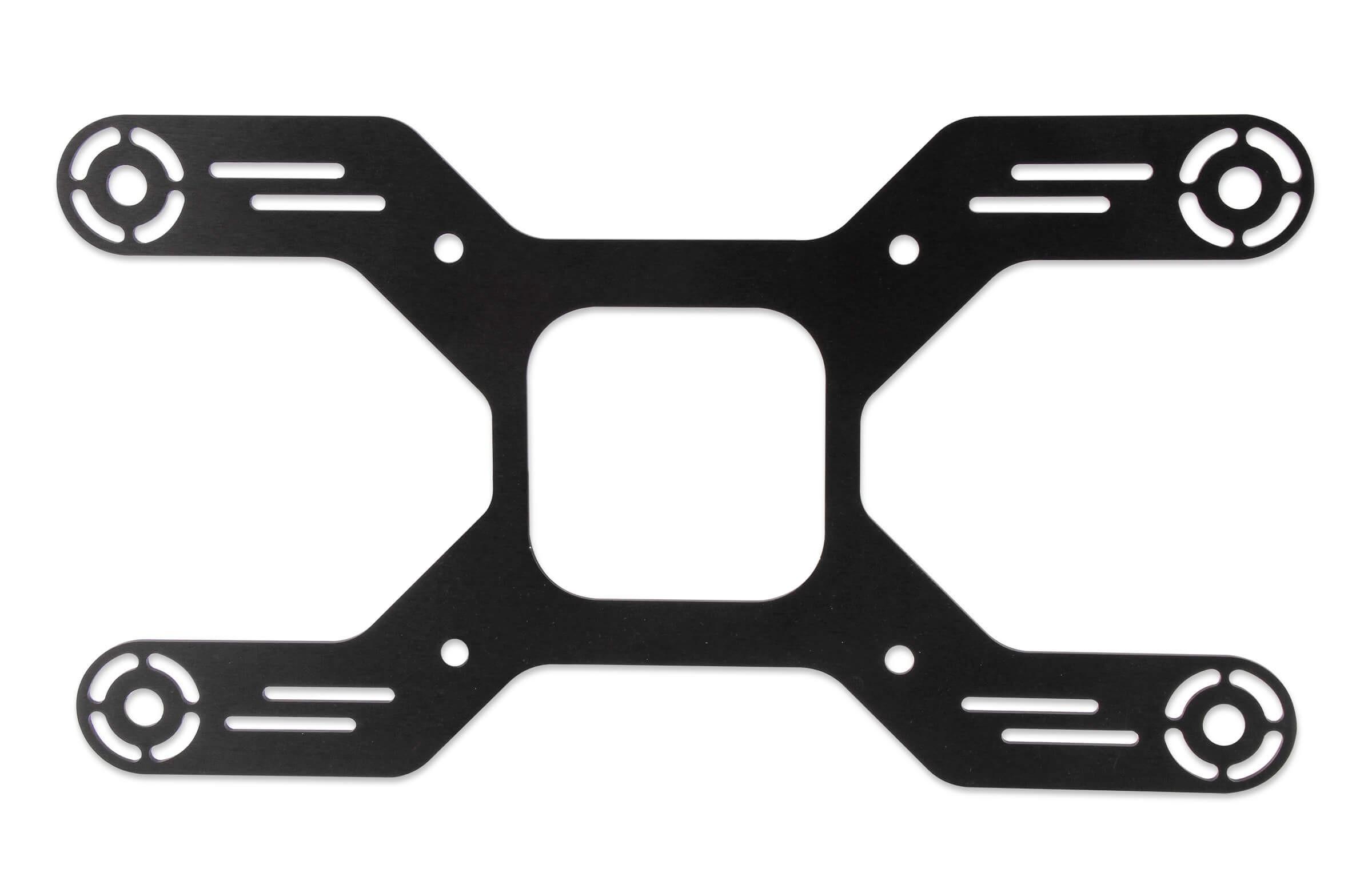 NOS Black Aluminum Solenoid Bracket 16526NOS