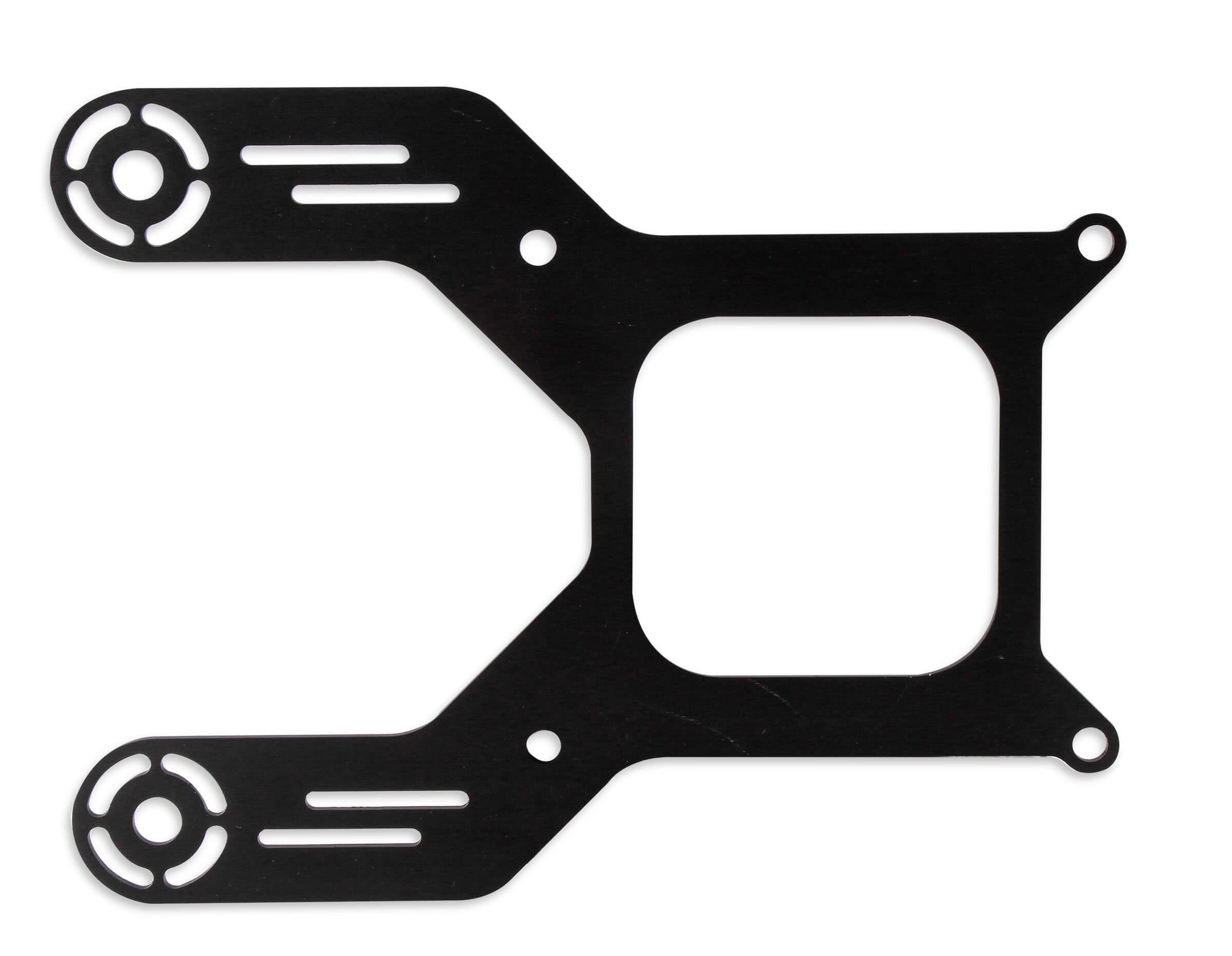 NOS Black Aluminum Solenoid Bracket 16528NOS