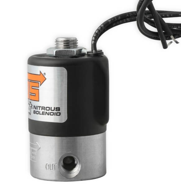 NOS Super Pro Shot Nitrous Solenoid - Black 18045BNOS