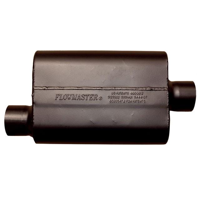"""FLO942448 Flowmaster Super 44 Muffler 2.25/"""" Offset Inlet//Outlet"""