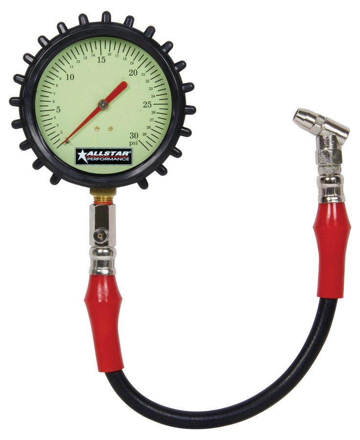 "Allstar Tire Pressure Gauge 4"" ALL44047"