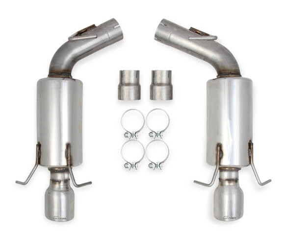 "Hooker BlackHeart 2009-2015 CTS-V Sedan 6.2L V8 3"" 304SS Axle-Back Exhaust System, Polished Tips BH13169"