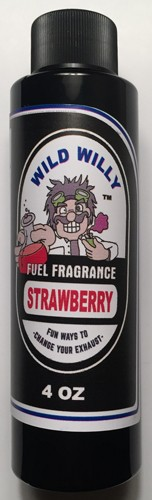 Wild Willy Fuel Fragrance Strawberry 4 oz