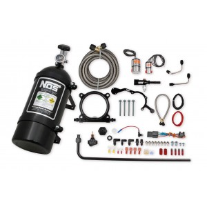 NOS complete wet nitrous system for 2015-2017 Mustang with 5.0L Coyote Engine-Black