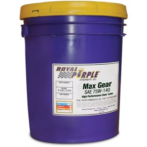 Royal Purple Max Gear Oil 75w140