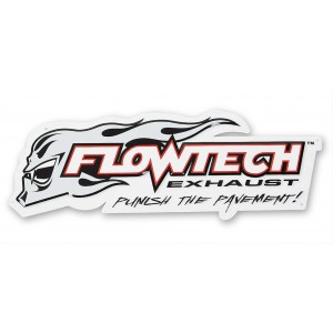 Flowtech Metal Sign