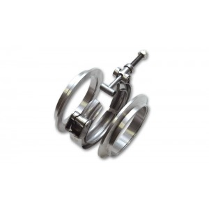 Vibrant Performance Stainless Steel V-Band Flange Assemblies