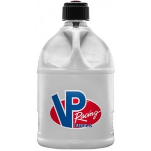 VP Racing Fuels Motorsport Container, Round, 5 gal Fuel Jug-White