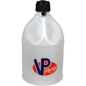 VP Racing Fuels Motorsport Container, Round, 5 gal Fuel Jug-White