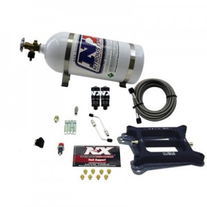 Nitrous Express 4150 Hitman 4-BBL (100-150-200HP) With 10LB Bottle