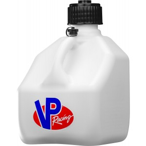 VP Racing Fuels Motorsport Containers 3 gal Fuel Jugs-White