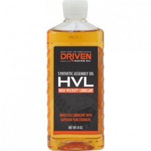 Driven Racing Oil HVL High Viscosity Lubricant 50051 case