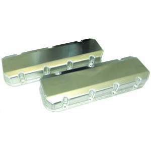 Moroso Fabricated Aluminum Valve Covers with no logo