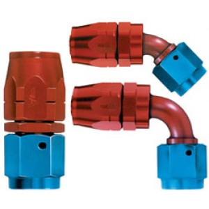 Aeroquip Reusable Aluminum Hose Fittings