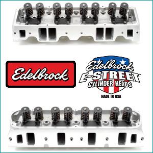 Edelbrock E-Street Cylinder Heads