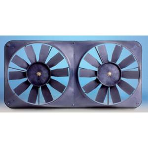 Flex-a-lite Dual Compact Electric Fans