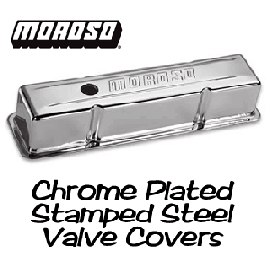 Moroso Stamped Steel Valve Covers