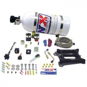 Nitrous Express Carbureted Gasoline Holley 4150 Nitrous Plate System (50-300 HP)