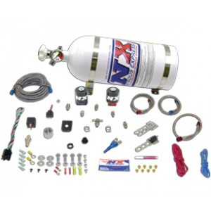 Nitrous Express Stage 1 EFI nitrous system (ALL SINGLE NOZZLE APPLICATION) With 10LB Bottle