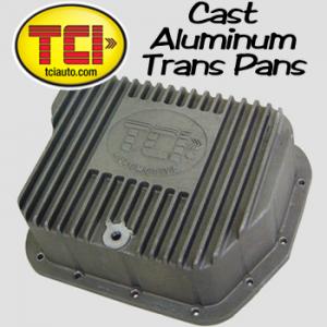 TCI Cast Aluminum Transmisson Pans