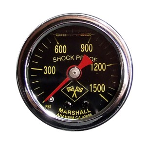 Big End Nitrous Oxide Pressure Gauge
