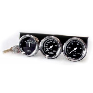 "Big End Gauge Kit 2-5/8"" Chrome Trio Kit"