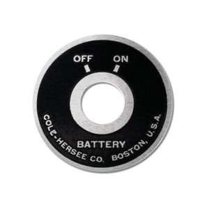 Big End Battery Face Plate
