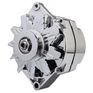 Big End GM Chrome Alternators
