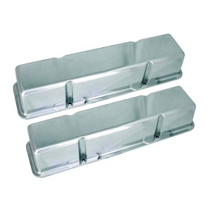 Big End Polished Aluminum Valve Covers