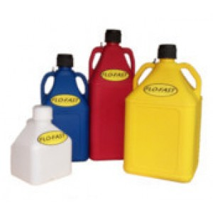 FLO-FAST Utility Jugs-Clear, Blue, Red, Yellow