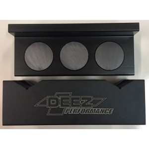 DEEZ Performance Vice Jaw Inserts-Magentized Billet ALUMINUM