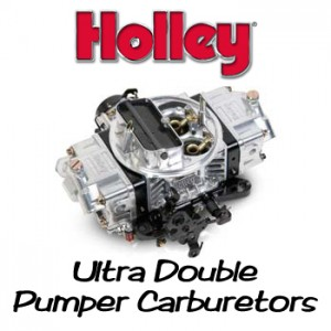 Holley Ultra Double Pumper Carburetors
