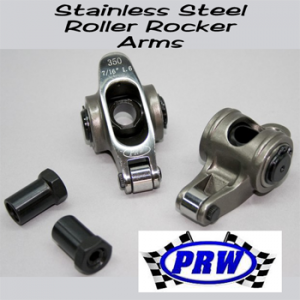 PRW Stainless Steel Roller Rocker Arms