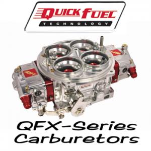Quick Fuel Technolgy QFX Drag Race Series Carburetors