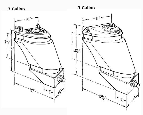 Jaz Products Pro Drag Fuel Cells-Flow Max